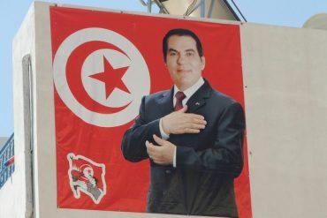 Flickr / stewartmorris. President Zine El Abidine Ben Ali