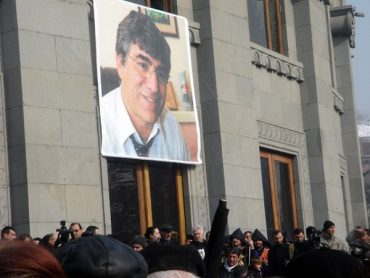 Flickr / chiaracomeluna. Farewell to Hrant Dink, Freedom Square