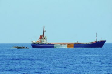 Flickr / IsraelMFA. Seventh flotilla ship attempts to break the maritime closure of the Gaza Strip
