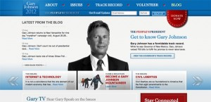 Gary Johnson - Black and White- August 29