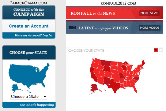Comparison of Ron Paul and Barack Obama