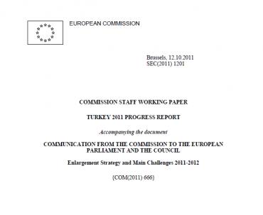 2011 EU official Progress Report on Turkey