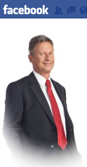 Gary Johnson - Facebook page