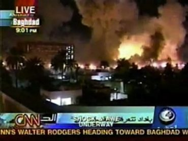 Shock and awe: US hard power in Baghdad, 2003 / CNN
