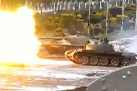 Homs - You cannot fight terrorism with tanks. AFP / Gettyimages