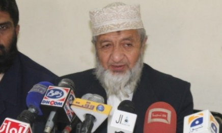 Jamaat-e-Islami Karachi chief Muhammad Hussain Mahenti