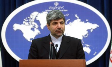 Ramin Mehmanparast - Iran's Foreign Ministry Spokesman