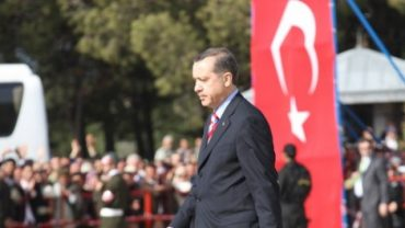 Turkey's leading man is known for his emotional tirades. Recep Tayyip Erdoğan (Erdoğan image via Shutterstock)