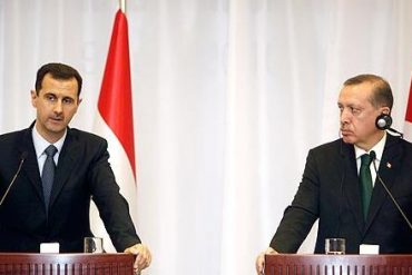 Al-Assad and Erdogan